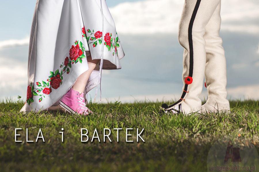 Ela i Bartek – piękny góralski ślub – Zakopane